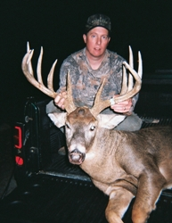 monster buck called with pocket call deer grunt